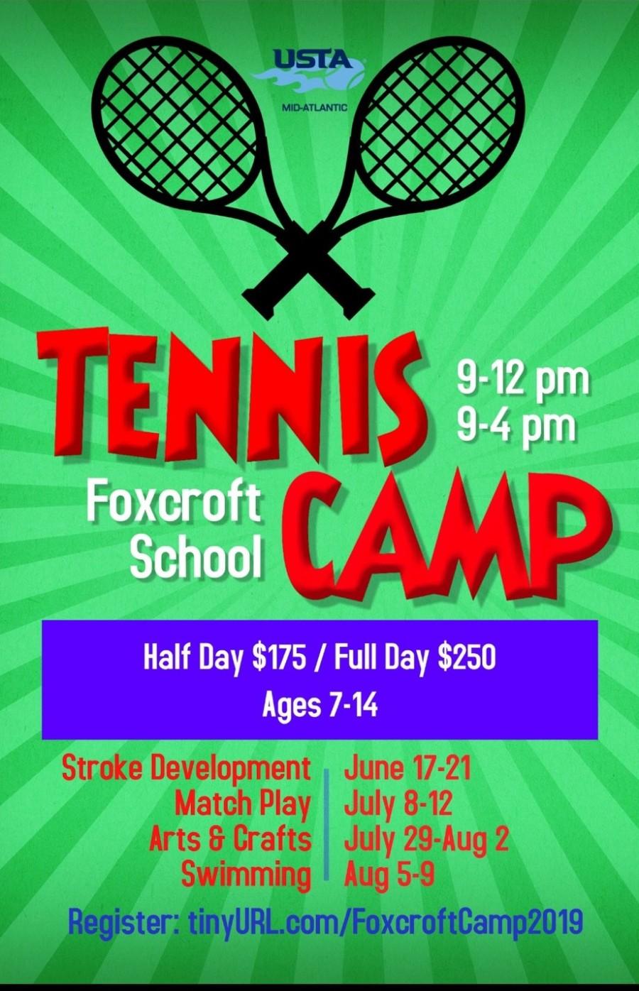 Foxcroft Tennis Camp